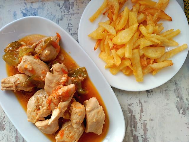Cómo preparar Pechugas de pollo en salsa